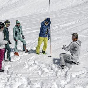 Intruduktion till lavinsäkerhet i Ramundberget