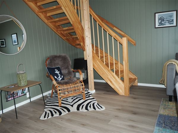 © Senja Arctic Lodge, Staircase up to second floor