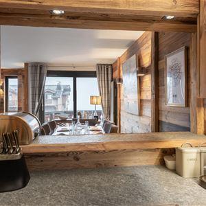 4 PIÈCES 6 PERSONNES skis aux pieds/ CIMES BLANCHES 102 (montagne de charme)/ Séjour Sérénité