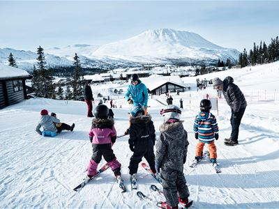 Langweekend i hytte med ski-in/ski-out