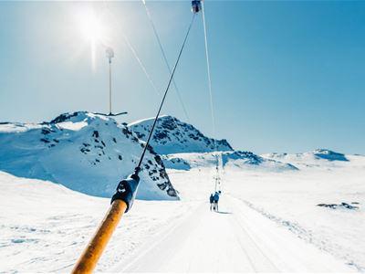 Skiweekend i hytte med ski-in/ski-out