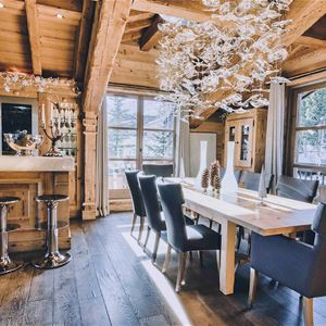 12 rooms 14 people / CHALET PEARL (Mountain of exception)