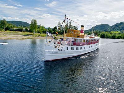 Dalen Hotel - cruise from Ulefoss locks