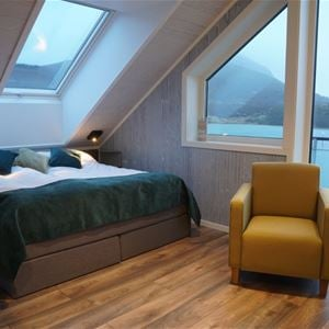 © Senja Fjordhotell, Double room with a view