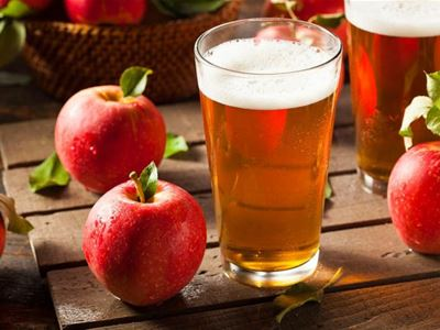 Apple + craft beer = two taste sensations