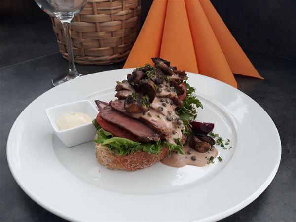 © Skagi Senja hotel & lodge, A meal from the restaurant