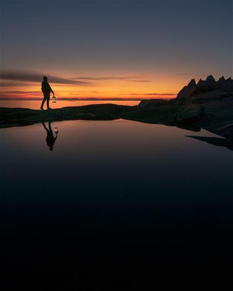 © Skagi Senja hotel & lodge, Hiking in Arctic summer lights