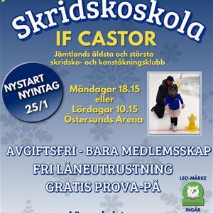 Östersundshems skridskoskola med IF Castor