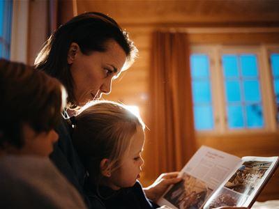 Familie: Miniferie i leilighet, hytte eller hotell