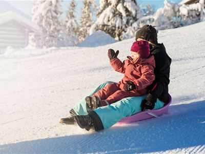 Snösäker sportlovsvecka för hela familjen