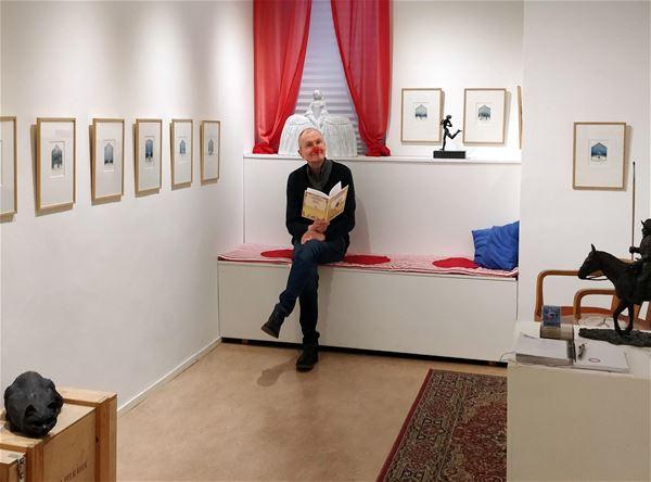 Nostalgiutställning i Galleri Juha P: Cirkus i stan