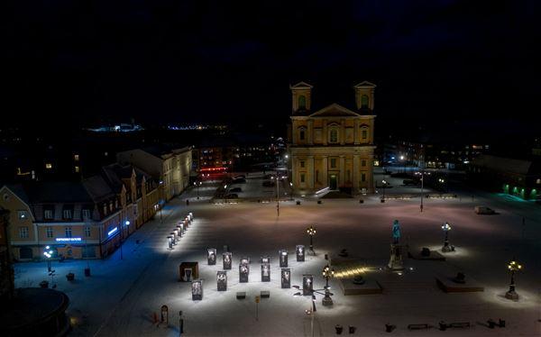 håkan linder, Outdoor exhibition - We Have A Dream