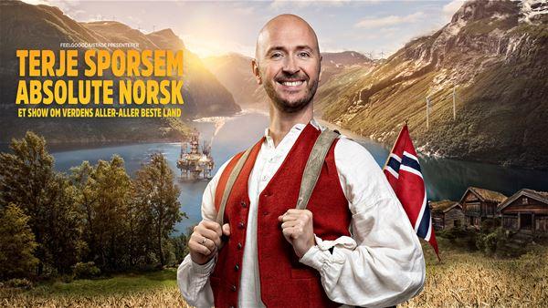 """Terje Sporsem: """"Absolute norsk"""""""