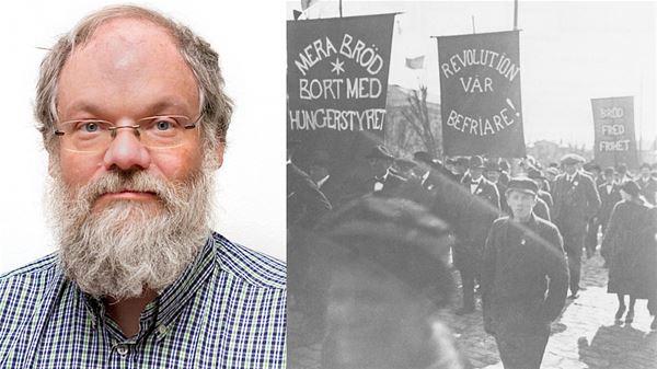 LIVESÄNDNING: Det var 1917 och vi frös och vi svalt. Upplopp och hungerprotester i Kalmar län