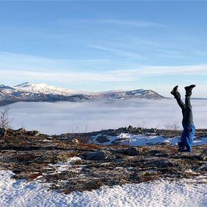 Yinyoga Online söndagar med Yogaform Funäsdalen