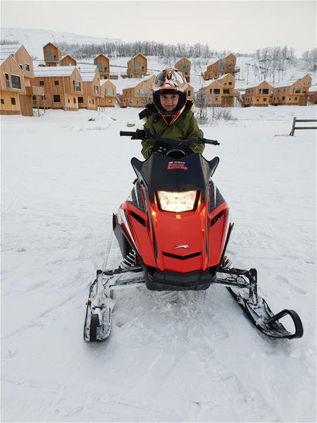 Miniskoter - Provkörning för barn från 4 år,  Hamra Tänndalen