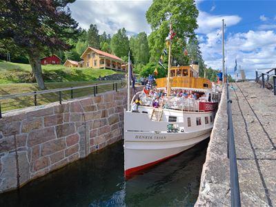 Thon Hotel Høyers - kanalens høydepunkt
