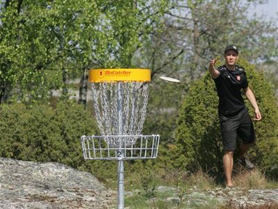 DiscGolf through the Åland archipelago