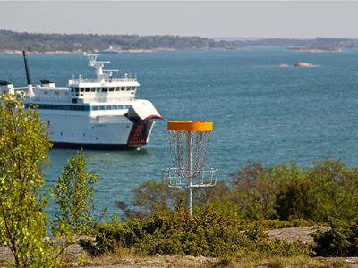 DiscGolf in the northern archipelago of Åland