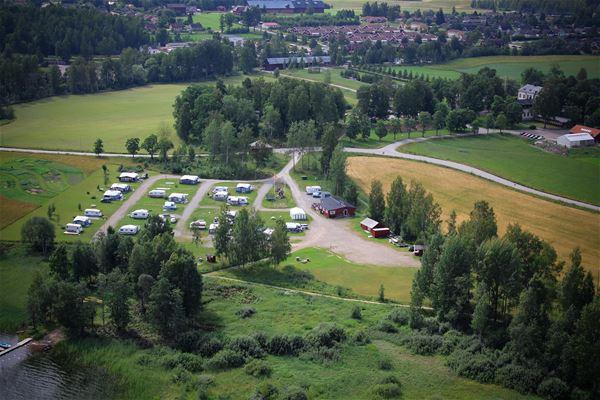 Ockelbo camping flygfoto