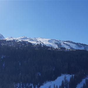 3 pièces 8 personnes skis aux pieds / OURSE BLEUE 709 (Montagne) / Séjour Sérénité