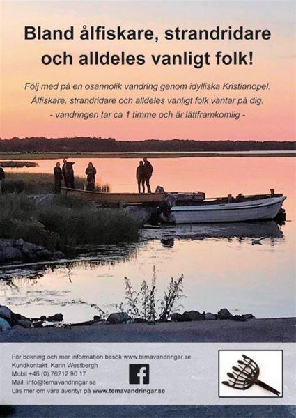 Guidad tur - Bland ålfiskare, strandridare och alldeles vanligt folk