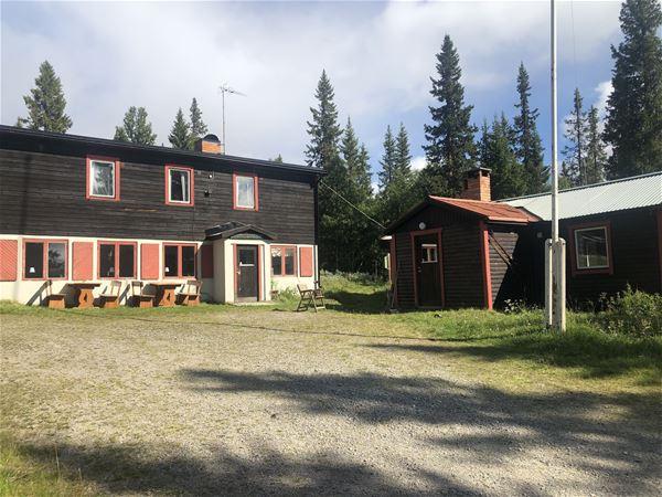 Exteriörbild på Scoutgården.