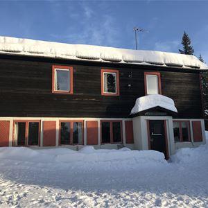 Vinterbild på Scoutgården