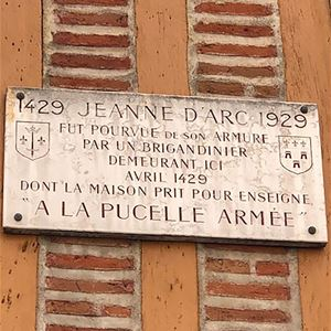 Les tourangeaux illustres : Jeanne d'Arc