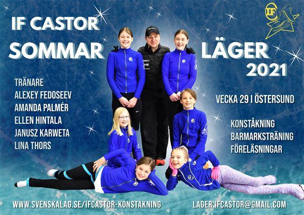 IF Castors konståkningsläger i Östersund