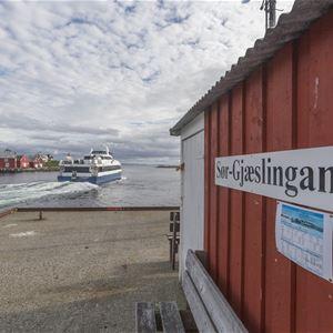 FISKEVÆRET SØR-GJÆSLINGAN - RORBUER