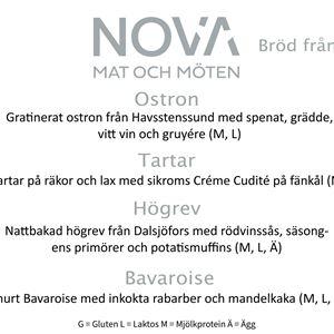 Entire Table - NOVA