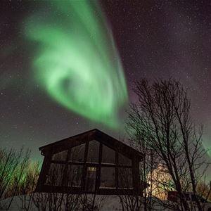 Jem Burrows Nightscape Photography,  © Jem Burrows Nightscape Photography, Northern Lights Over The Distillery Cabin