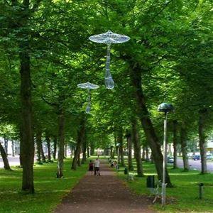 Skulpturutställning: Form i Mariehamn