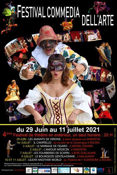 Festival Commedia Dell'Arte - Les Fourberies de Scapin