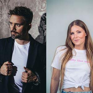 The artist Erik Segerstedt and Cecilia Kallin