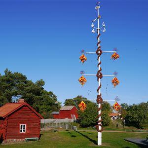 Midsommarfirandet på Jan Karlsgården i Sund
