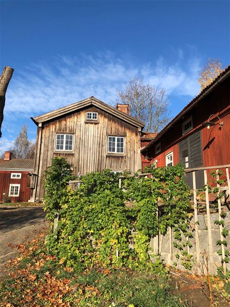 Husbilsplatser vid Träslottet i Arbrå