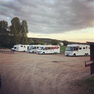 Husbil- och husvagnsplatser vid Växbo Krog