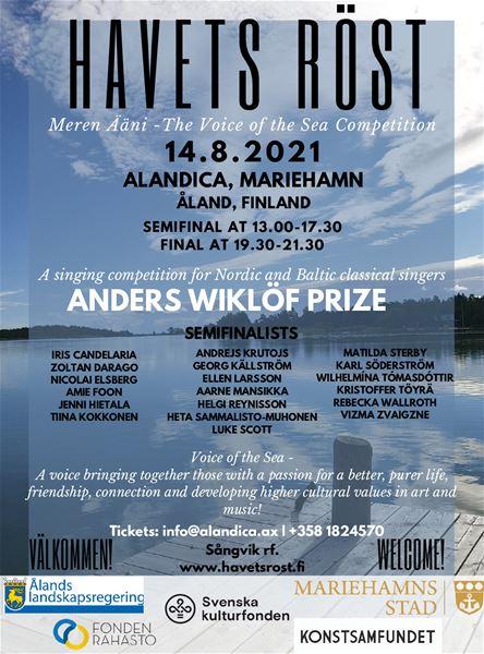 Laulukilpailu Havets Röst - Meren Ääni - Voice of the Sea Competition