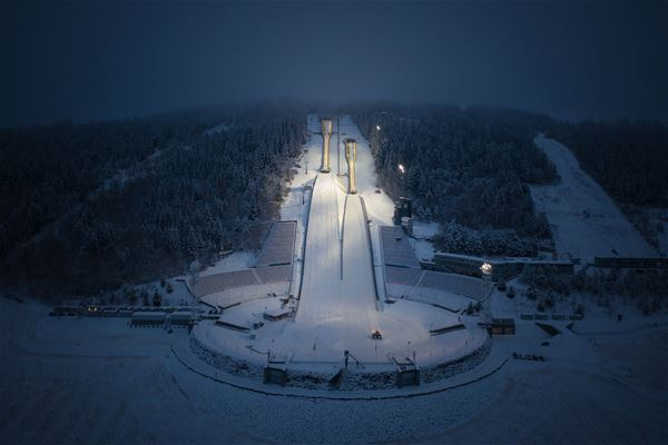 Daniel Nordby - Olympiaparken, FIS Ski Jumping World Cup Lillehammer RAW Air