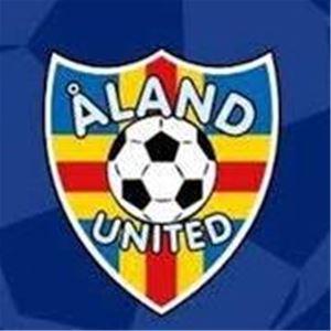 Jalkapallojoukkue Åland Unitedin kotiottelu Wiklöf Holding Arenalla