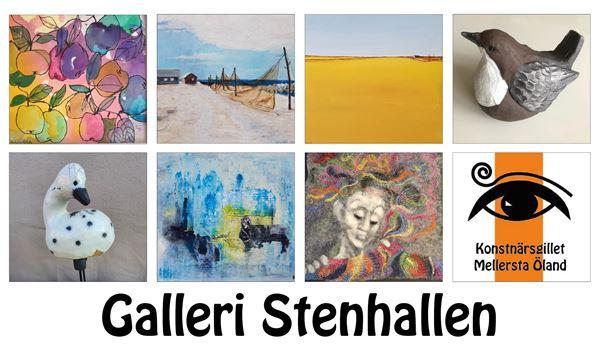 Konstutställning Galleri Stenhallen, Borgholm