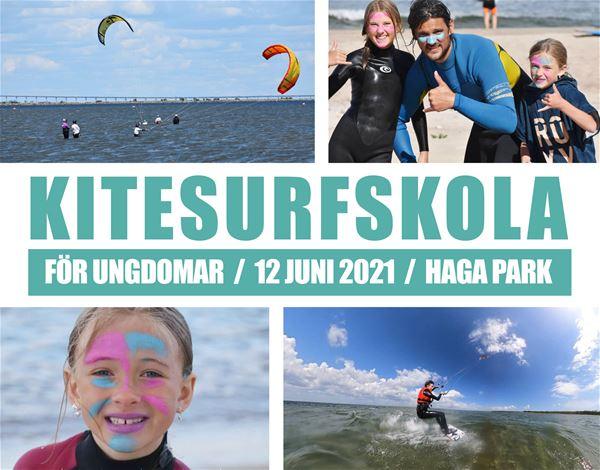 Kitesurfingkurs för ungdomar