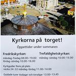 Guidad tur - Kyrkorna på torget!