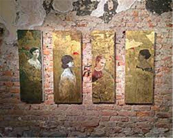 Utställning på Galleri Mamaso, Jovanka Veit-Berg