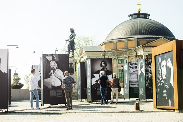 Outdoor exhibition - We Have A Dream