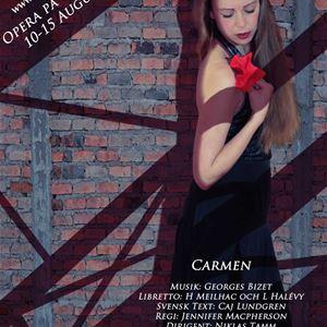 Opera på bruket - Carmen - All inclusive paket