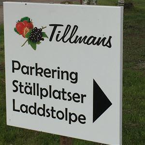 Ställplats Tillmans Café & Gårdsbutik