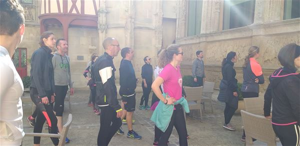 Footing culturel, visite sportive (running ou marche rapide)